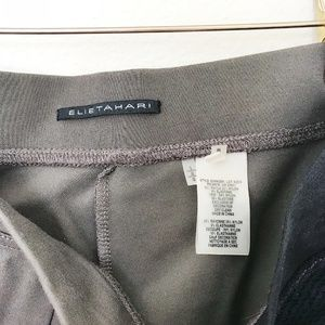 Elie Tahari Pants - Elie Tahari Grey Black Casual Leggings Size Large
